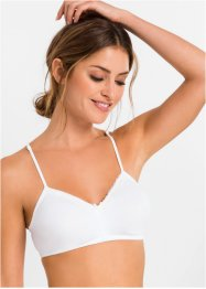 Bustier (2er-Pack) Bio-Baumwolle, bpc bonprix collection
