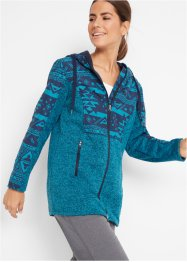 Fleecejacke mit Kapuze, bpc bonprix collection