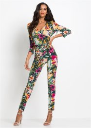 Jumpsuit mit Blumendruck, BODYFLIRT boutique
