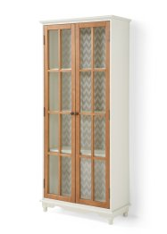 Vitrine mit dekorativer Rückwand, bpc living bonprix collection