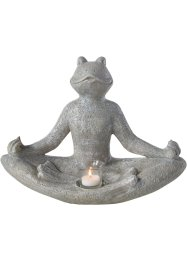 Kerzenhalter Yogafrosch, bpc living bonprix collection
