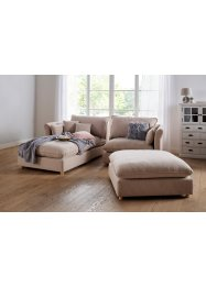 Modulsofa aus robustem Strukturstoff, bpc living bonprix collection