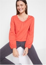 Langarm-Shirt aus Baumwolle, bpc bonprix collection
