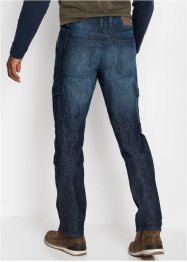 Regular Fit Cargo-Jeans, Straight, John Baner JEANSWEAR