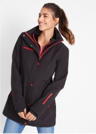 Stretch-Softshell-Longjacke, bpc bonprix collection