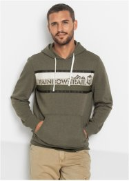 Kapuzensweatshirt Slim Fit, RAINBOW