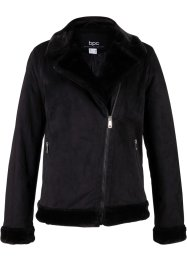 Lederimitat-Jacke im Biker-Stil, bpc bonprix collection