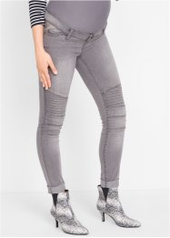 Umstandsjeans, Skinny im Bikerstil, bpc bonprix collection