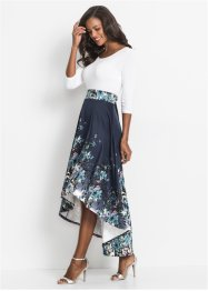 Vokuhila-Kleid mit Blumenprint, BODYFLIRT boutique