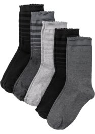 Damen Socken (5er Pack) Bio Baumwolle, bpc bonprix collection