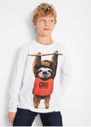 Jungen Langarmshirt mit Tiermotiv, bpc bonprix collection