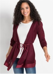 Strickjacke mit Bindeband, BODYFLIRT