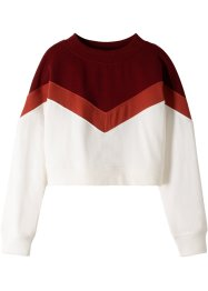 Kurzes Sweatshirt, bpc bonprix collection
