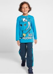 Jungen Langarmshirt + Sweathose (2-tlg. Set), bpc bonprix collection