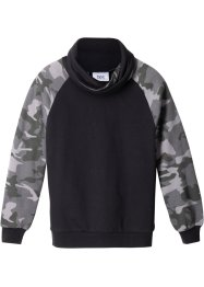 Sweatshirt mit modischem Kragen, bpc bonprix collection