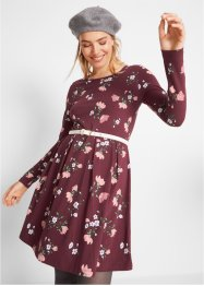 Jerseykleid mit Blumenmuster, bpc bonprix collection