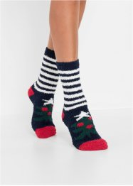 Kuschelsocken Weihnachten (4er-Pack), bpc bonprix collection