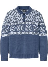 Troyerpullover mit Norwegermuster, bpc bonprix collection