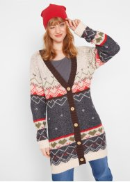 Strickjacke mit Norweger Muster, bpc bonprix collection