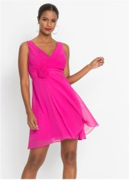 Kleid mit Blumenapplikation, BODYFLIRT boutique