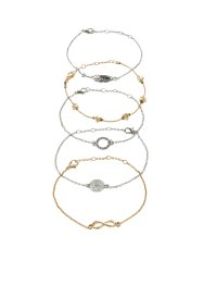 5-tlg. Armbandset, bpc bonprix collection