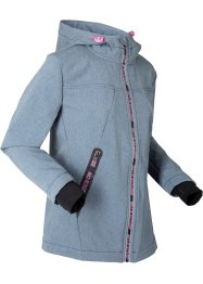 Funktions-Softshelljacke lang mit Teddyfleece, bpc bonprix collection