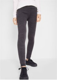 Gerippte Thermo-Leggings mit Rippbund, bpc bonprix collection