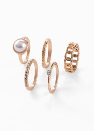 5-tlg. Ringset, bpc bonprix collection