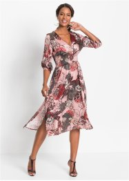 Midikleid mit Blumenprint, BODYFLIRT boutique