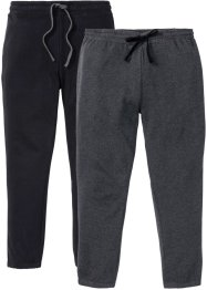 Jogginghose 2er Pack, bpc bonprix collection