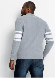 Troyer-Pullover mit recycelter Baumwolle, bpc bonprix collection