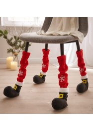 Stuhl- und Tischbeinsocken Santa (4er Pack), bpc living bonprix collection