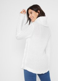 Rollkragenpullover mit Knopfdetail, bpc bonprix collection