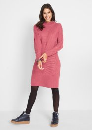 Strick-Oversize-Kleid mit Muster, bpc bonprix collection