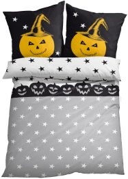Bettwäsche mit Halloween Druck, bpc living bonprix collection