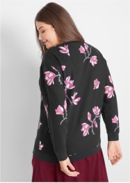Sweatshirt mit Blumendruck, bpc bonprix collection