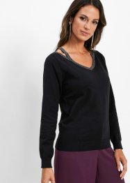 Cold Shoulder Pullover, bpc selection