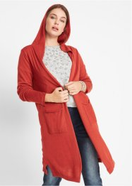 Longstrickjacke mit Kapuze, bpc bonprix collection