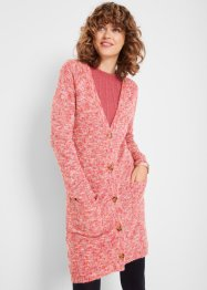 Longstrickjacke Mouliné, bpc bonprix collection