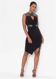 Party-Shirtkleid mit Strass, BODYFLIRT boutique