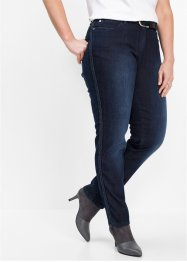 Stretchjeans mit Zopfband, bpc selection