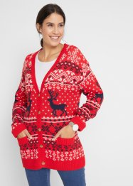 Strickjacke mit Norweger- Muster, bpc bonprix collection