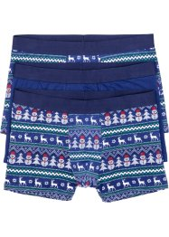 Boxer mit Weihnachtsmotiv (3er-Pack), bpc bonprix collection