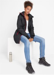 Warme Funktions-Long-Steppjacke, bpc bonprix collection