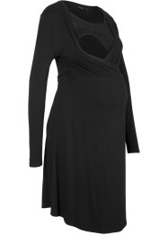 Wickel-Stillkleid / Wickel-Umstandskleid mit Spitze, bpc bonprix collection