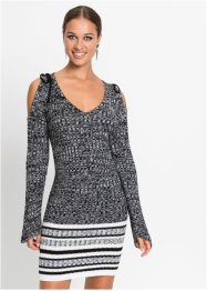Strickkleid mit Cut Outs, BODYFLIRT boutique