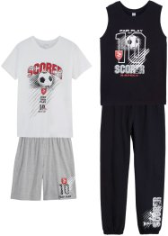 Sportoutfit (4-tlg. Set), bpc bonprix collection