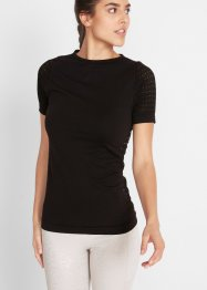 Elastisches Seamless-Sport-Shirt, kurzarm, bpc bonprix collection
