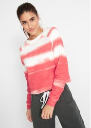 Sportives Sweatshirt mit Farbverlauf, langarm, bpc bonprix collection