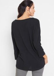 Piqué-Shirt Oversize, 3/4 Arm, bpc bonprix collection